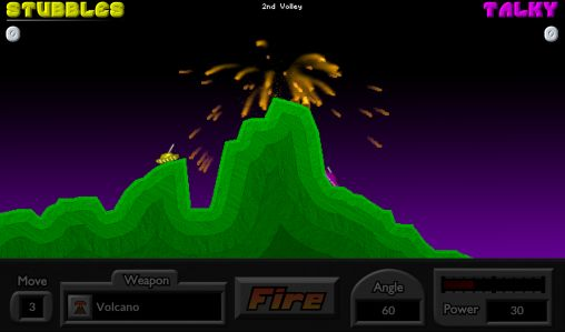 Screenshots of the Pocket tanks for Android tablet, phone.