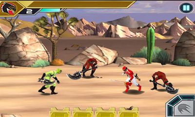 Screenshots of the Power Rangers:Swappz MegaBrawl for Android tablet, phone.