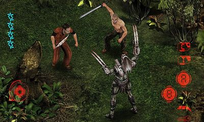 Screenshots of the Predators for Android tablet, phone.