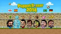 In addition to the game Pocket Frogs for Android phones and tablets, you can also download Puppet soccer 2014 for free.