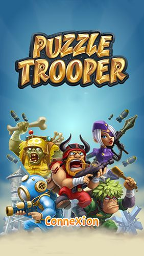 Screenshots of the Puzzle trooper for Android tablet, phone.