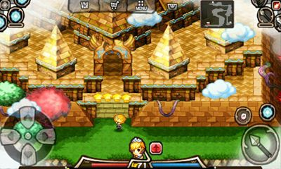 Screenshots of the Queen's Crown 2 for Android tablet, phone.