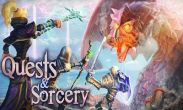 In addition to the game CSR Racing for Android phones and tablets, you can also download Quests & Sorcery for free.