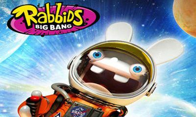 Screenshots of the Rabbids Big Bang for Android tablet, phone.