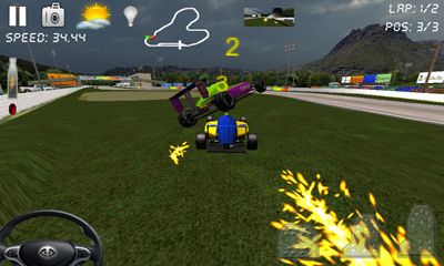 Screenshots of the Race Rally 3D Car Racing for Android tablet, phone.