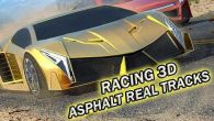 Racing 3D: Asphalt real tracks free download. Racing 3D: Asphalt real tracks full Android apk version for tablets and phones.