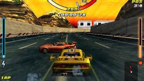 Screenshots of the Racing car 3D for Android tablet, phone.