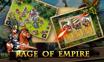 Screenshots of the Rage Of Empire for Android tablet, phone.