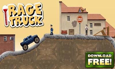 Screenshots of the Rage Truck for Android tablet, phone.