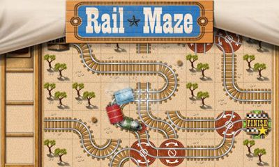 Screenshots of the Rail Maze for Android tablet, phone.