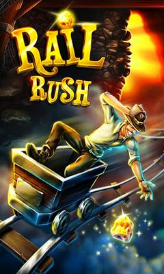 Screenshots of the Rail Rush for Android tablet, phone.