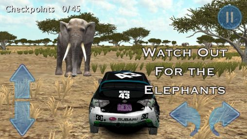 Screenshots of the Rally race 3D: Africa 4x4 for Android tablet, phone.