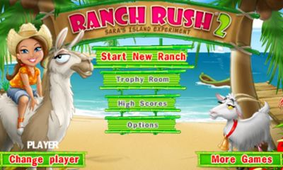 Screenshots of the Ranch Rush 2 for Android tablet, phone.