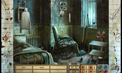 Screenshots of the Ravenhill Asylum HOG for Android tablet, phone.