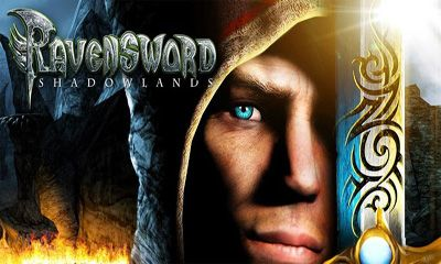 Screenshots of the Ravensword: Shadowlands for Android tablet, phone.