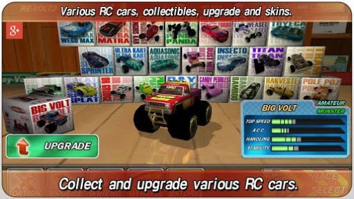 Screenshots of the Re-volt 2: Best RC 3D racing for Android tablet, phone.