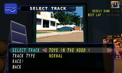 Screenshots of the Re-Volt Classic for Android tablet, phone.