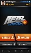 In addition to the game God of Blades for Android phones and tablets, you can also download Real Basketball for free.