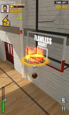Screenshots of the Real Basketball for Android tablet, phone.