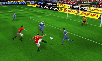 Real Football 2011 - Android game screenshots. Gameplay Real Football