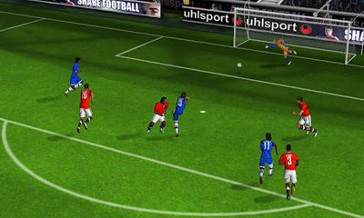 Screenshots of the Real Football 2012 for Android tablet, phone.