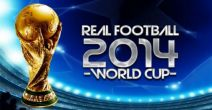 In addition to the game  for Android phones and tablets, you can also download Real football 2014: World cup for free.