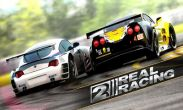In addition to the game Minecraft Pocket Edition for Android phones and tablets, you can also download Real Racing 2 for free.