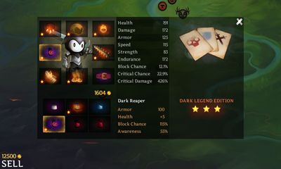 Screenshots of the Reaper for Android tablet, phone.