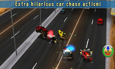 Screenshots of the Reckless Getaway for Android tablet, phone.