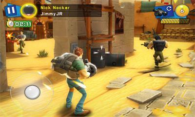 Screenshots of the Respawnables for Android tablet, phone.