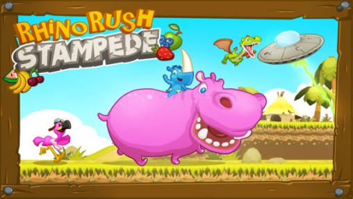 Download Rhino rush: Stampede Android free game. Get full version of Android apk app Rhino rush: Stampede for tablet and phone.