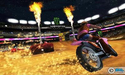 Screenshots of the Ricky Carmichael's Motocross for Android tablet, phone.