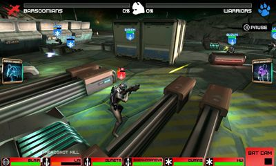 Screenshots of the Rivals at War: 2084 for Android tablet, phone.