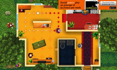 Screenshots of the Robbery Bob for Android tablet, phone.