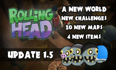 Download Rolling Head Android free game. Get full version of Android apk app Rolling Head for tablet and phone.