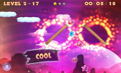 Screenshots of the Rolling Star for Android tablet, phone.