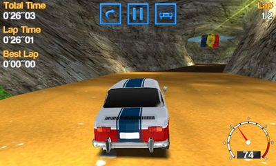 Screenshots of the Romanian Racing for Android tablet, phone.