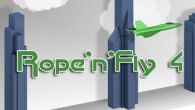 In addition to the game iFighter 1945 for Android phones and tablets, you can also download Rope'n'fly 4 for free.