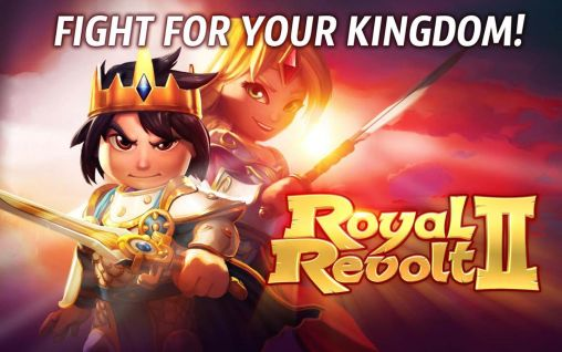 Screenshots of the Royal revolt 2 for Android tablet, phone.