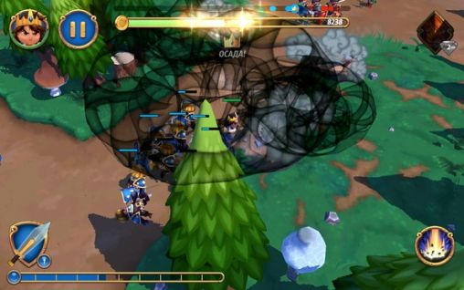 Royal revolt 2 - Android game screenshots. Gameplay Royal revolt 2.