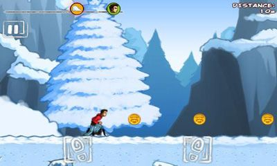 Screenshots of the Run Like Hell! Yeti Edition for Android tablet, phone.