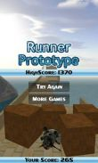 In addition to the game Age of zombies for Android phones and tablets, you can also download Runner Prototype for free.