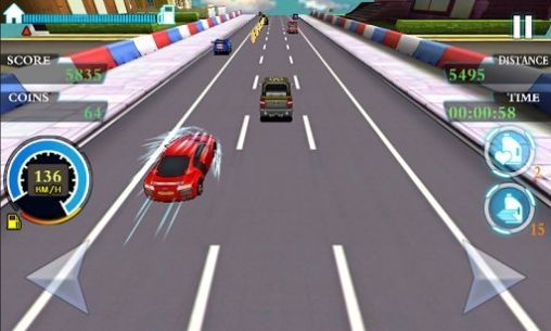 Screenshots of the Rush racing 2: The best racer for Android tablet, phone.