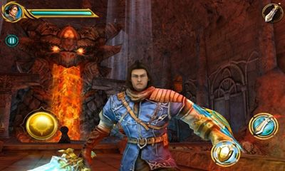 Screenshots of the Sacred Odyssey: Rise of Ayden HD for Android tablet, phone.