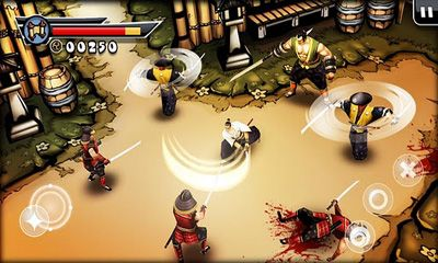 Screenshots of the Samurai II vengeance for Android tablet, phone.
