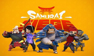 Screenshots of the Samurai Siege for Android tablet, phone.