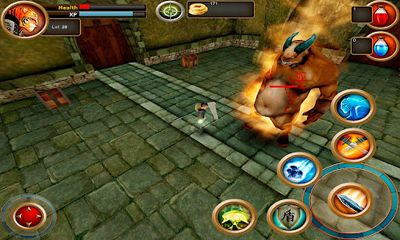 Screenshots of the Samurai Tiger for Android tablet, phone.