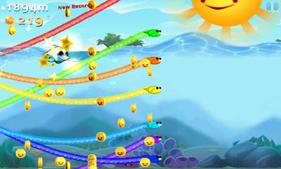 Screenshots of the Sea Stars for Android tablet, phone.