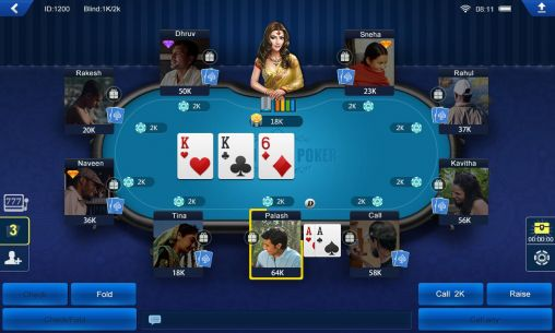 Screenshots of the Shahi India poker for Android tablet, phone.