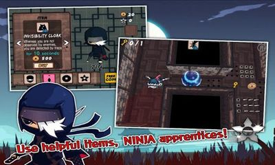 Screenshots of the Shinobi ZIN Ninja Boy for Android tablet, phone.